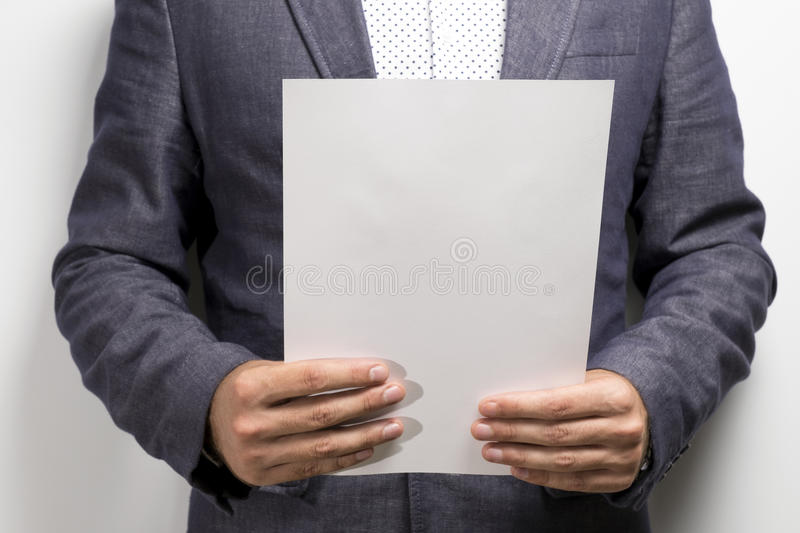 Lawyer reading legal contract agreement royalty free stock images