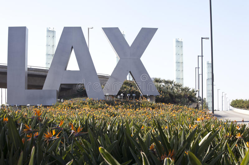 Download LAX Airport editorial stock image. Image of county, transportation - 42302654