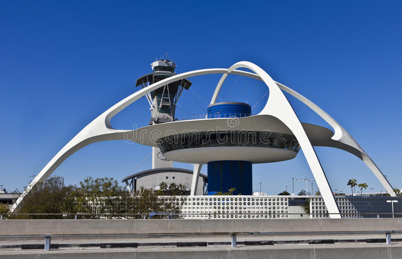 LAX Theme Building royalty free stock images