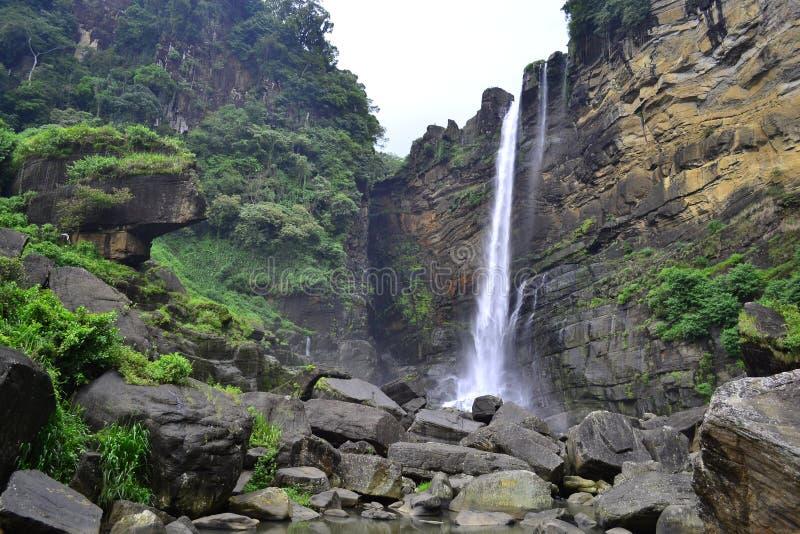 Laxapana spada Sri lanka zdjęcie stock