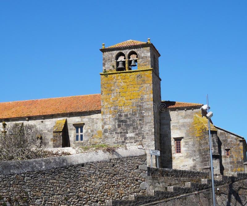 Laxe kerk - het Noordenkust Spanje royalty-vrije stock fotografie