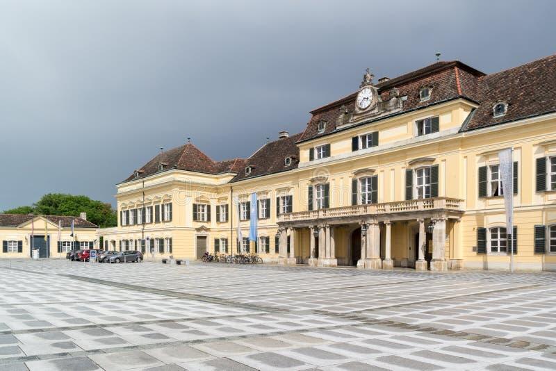 Laxenburgkasteel dichtbij Wenen, Oostenrijk stock fotografie