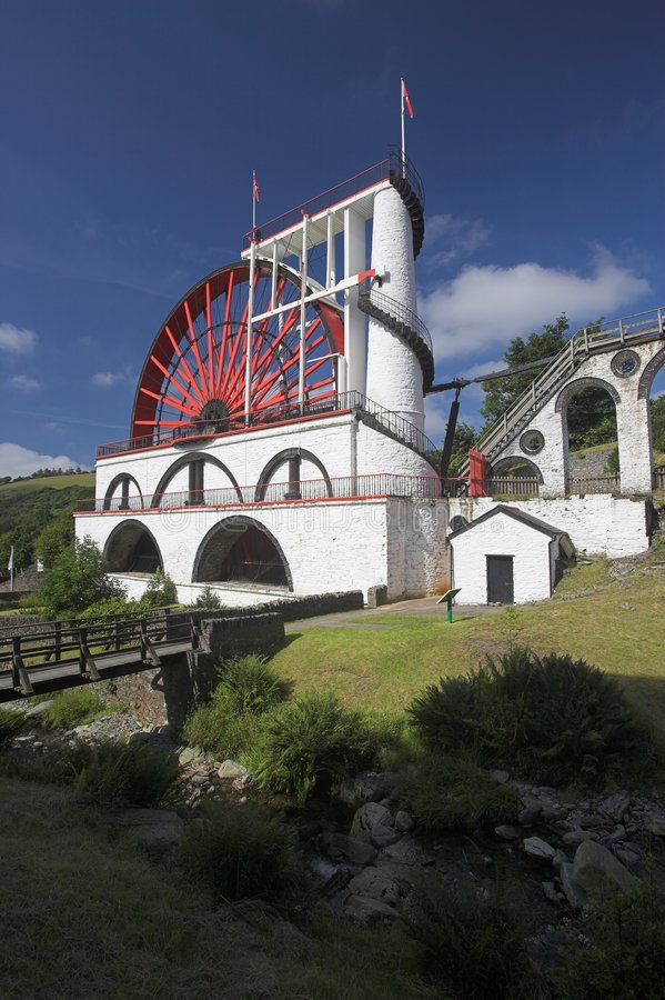 Free Laxey Waterwheel Royalty Free Stock Photography - 1016487