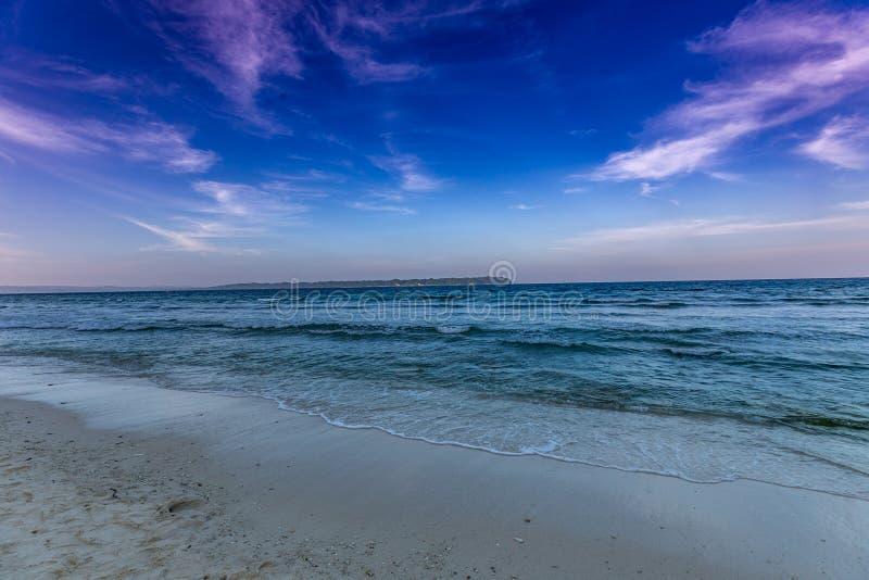 Laxmanpur plaży Neil wyspa zdjęcia stock