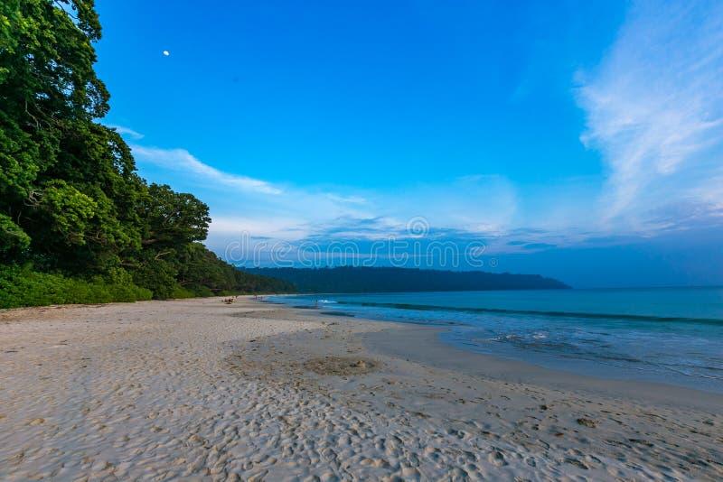 Laxmanpur plaży Neil wyspa zdjęcie royalty free