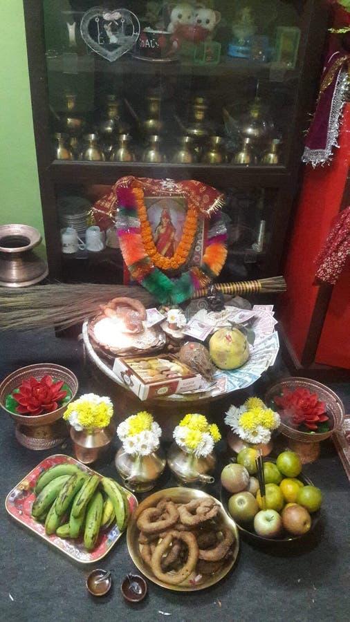 Laxmi Pooja stock images