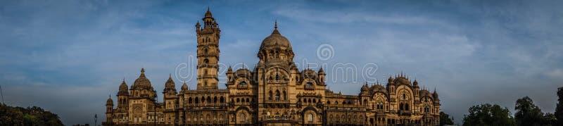 Laxmi Vilas pałac panorama fotografia stock