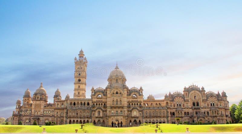 Laxmi Vilas Palace royaltyfria foton