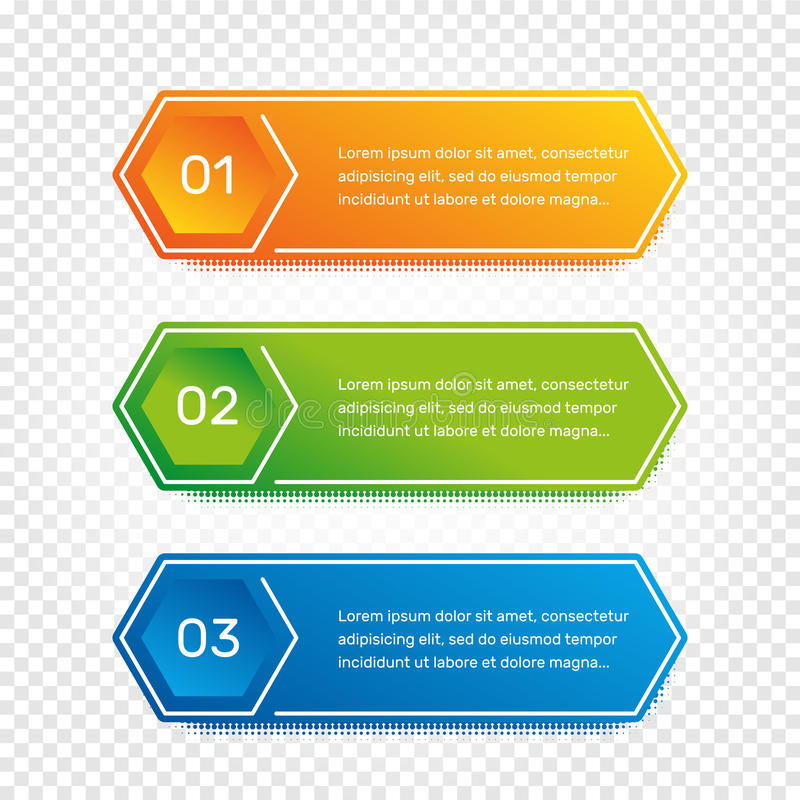 Lay-outwerkschema Overzichts kleurrijk menu voor app interface Aantalopties Webontwerp van knopenelementen Infographics 1 stock illustratie