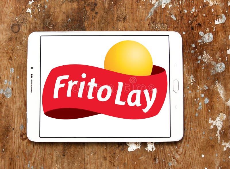 Lay zakładu spożywczego logo obraz royalty free
