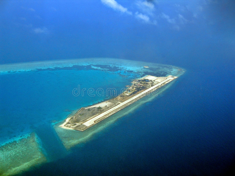 Layang-Layang Insel stockfotografie