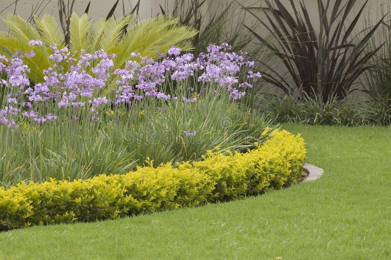 Layered garden edge royalty free stock photography
