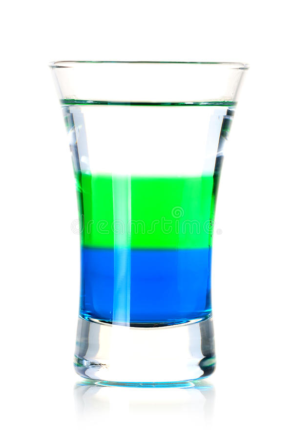 Download Layered shot cocktail stock image. Image of color, layer - 14006591