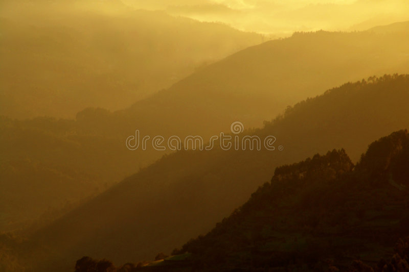 Download Layers stock photo. Image of mountain, landscape, sunset - 456480