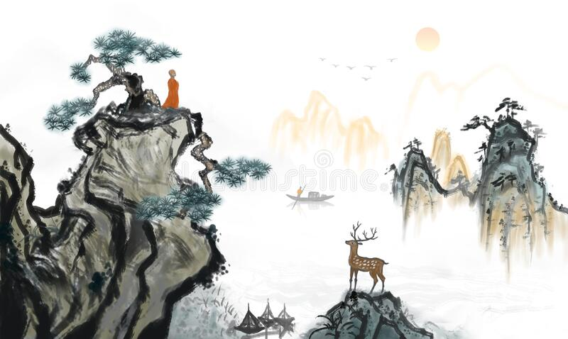 Asian Landscape Painting Stock Illustrations 2 106 Asian