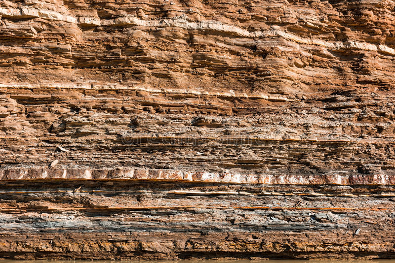 Layers of rocks. In the mountains royalty free stock photos
