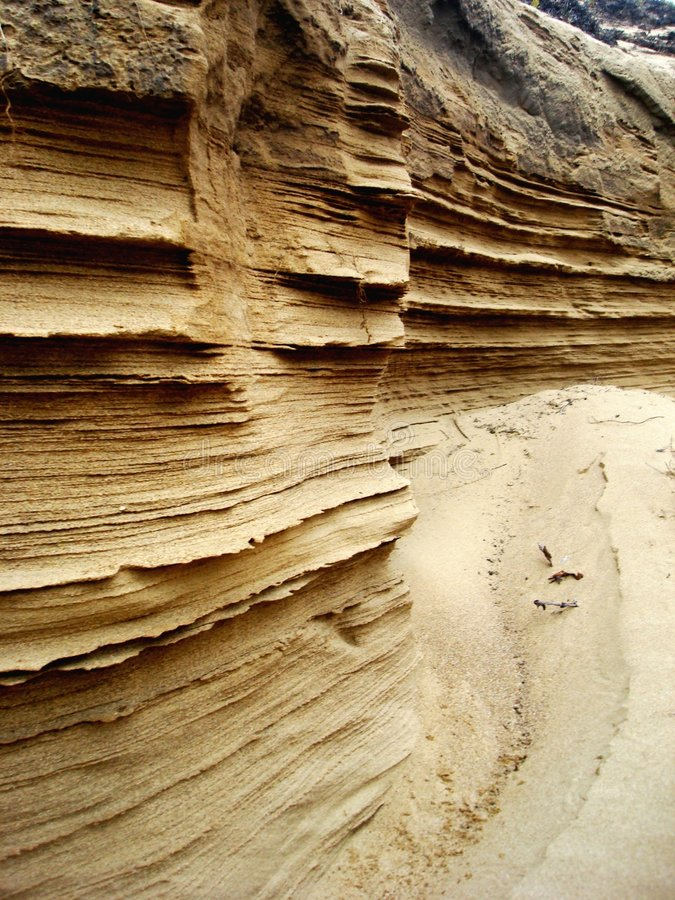 Download Layers of Sand stock image. Image of dune, clay, erosion - 4964155