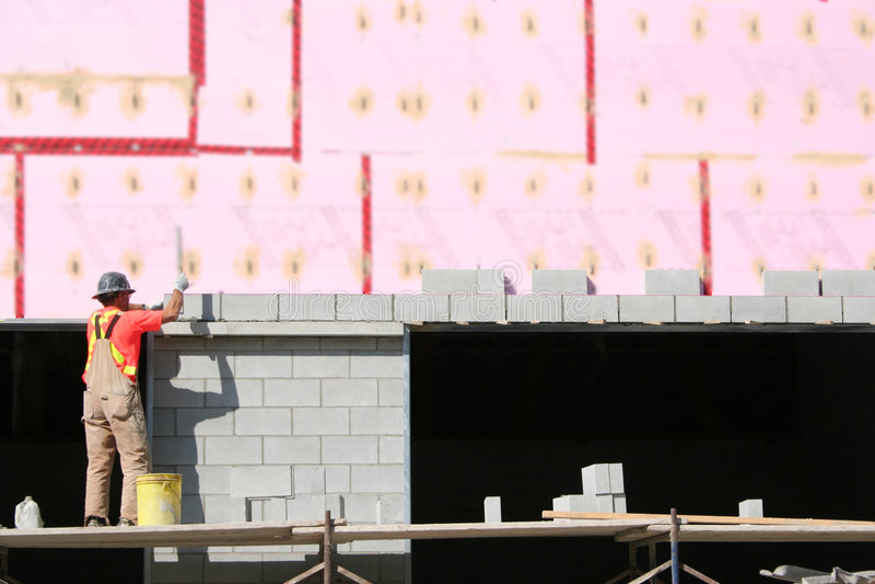 Laying Blocks. royalty free stock photo