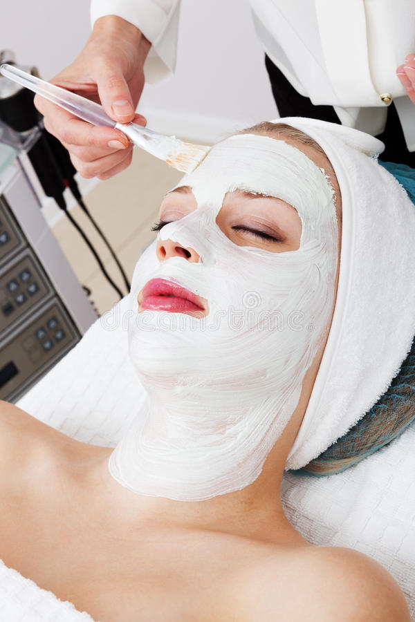 Download Laying of cosmetic masks stock photo. Image of hand, cleaning - 24785250