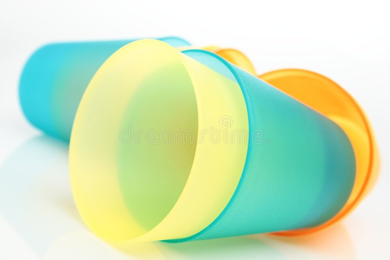 Download Laying Empty Plastic Cups Royalty Free Stock Image - Image: 7102126