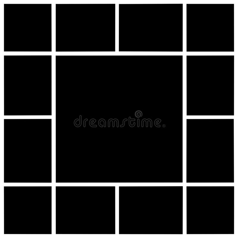 Rectangular frames, empty frames stock photos