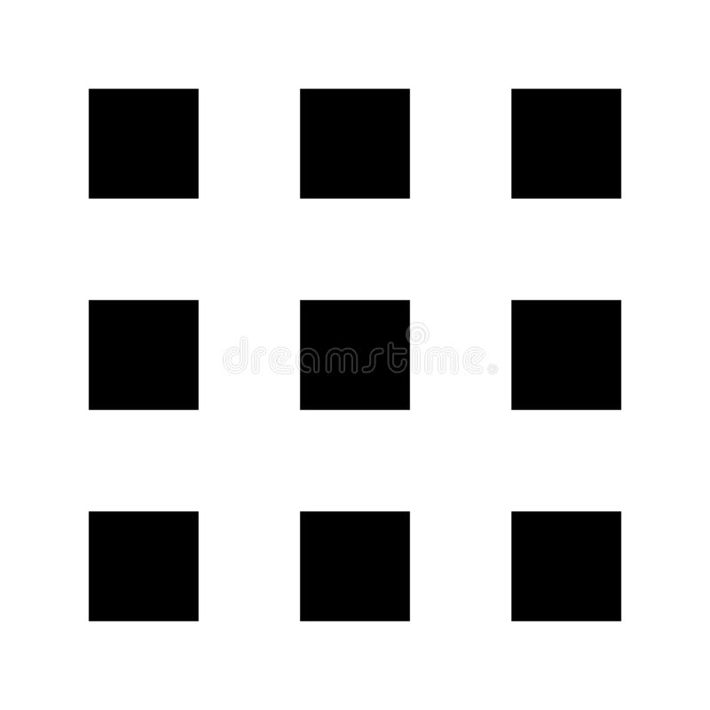 Layout glyph flat vector icon stock illustration