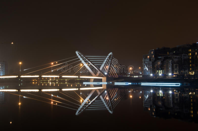 Lazarevsky Bridge royalty free stock photo