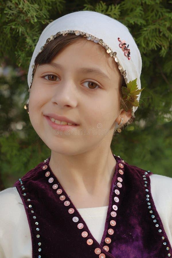 Lazarica girl royalty free stock image