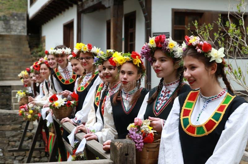 Lazarki in Bulgaria stock photography