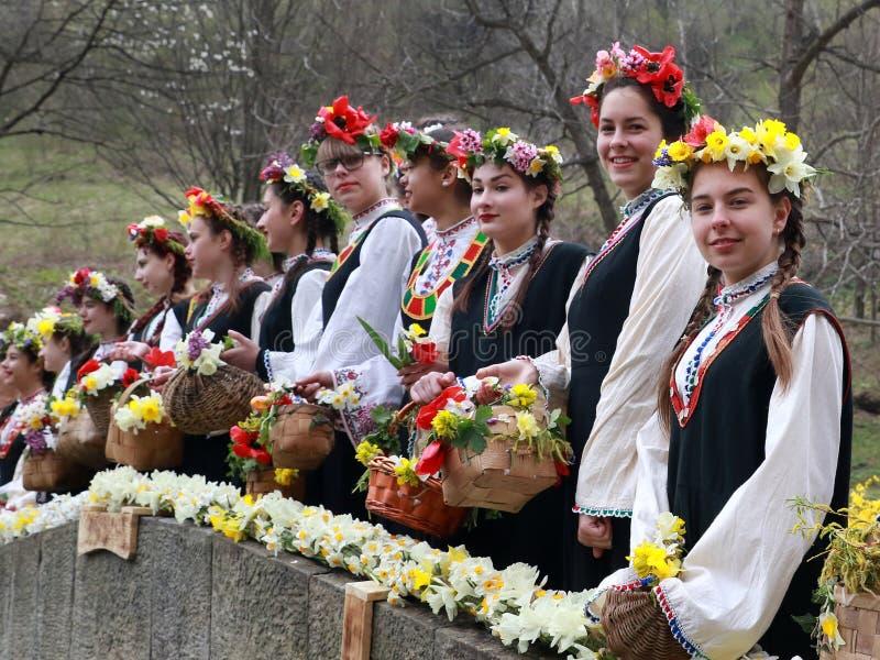 Lazarki in Bulgarije royalty-vrije stock foto