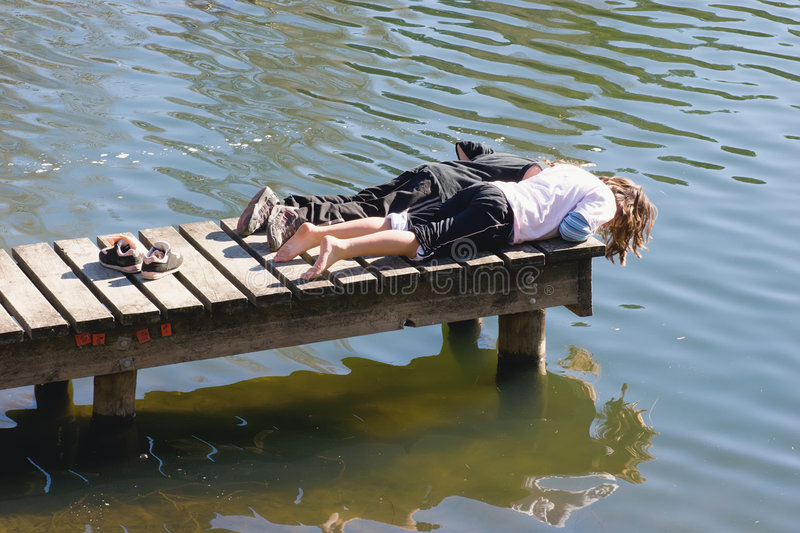 Download Laze the days aways 01 stock image. Image of down, couple - 2730603