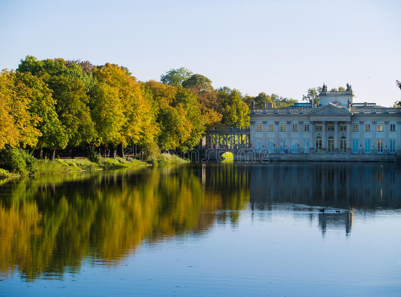 Download Lazenki Park, Warsaw, Poland Stock Image - Image: 21734885