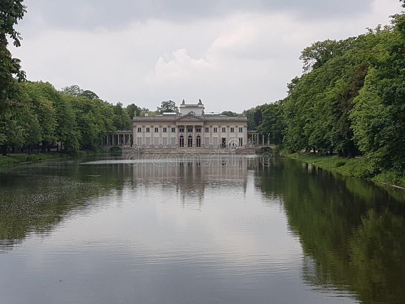 Lazienki Park royalty free stock photo