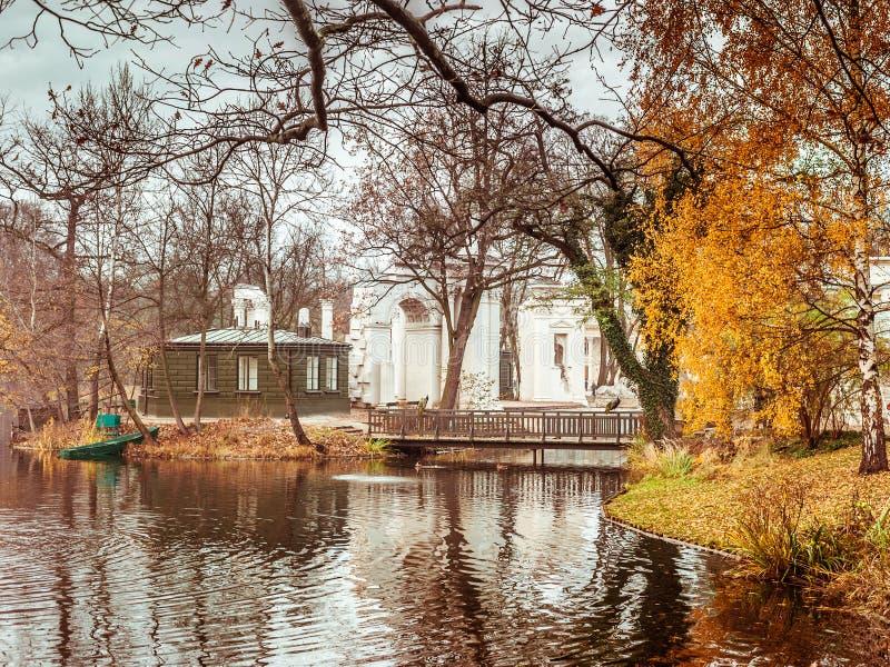 Lazienki Park royalty free stock images