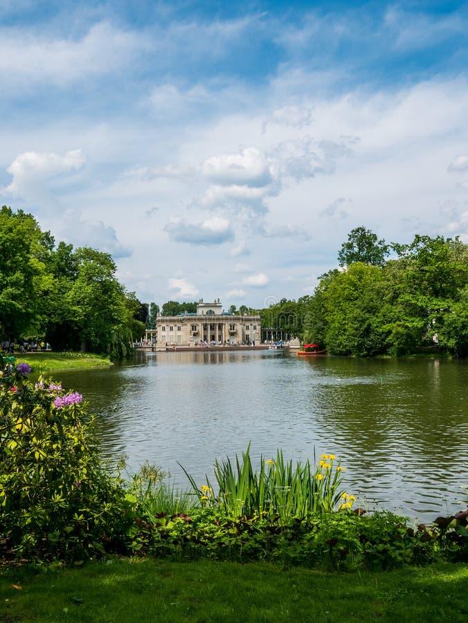Lazienki park, Warszawa, Polska zdjęcia royalty free