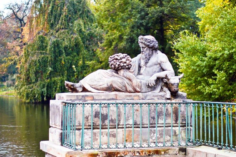 Lazienki - Royal Park in Warsaw. Poland. stock photos