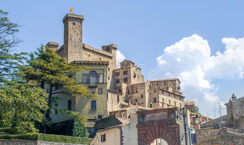 Lazio Gebied - Bolsena - Viterbo stock fotografie