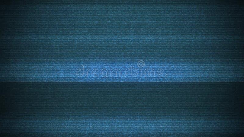 Lazo brillante del fondo de interferencia de ruido de la interferencia de la pantalla LCD para la tecnología digital de la contra imagen de archivo