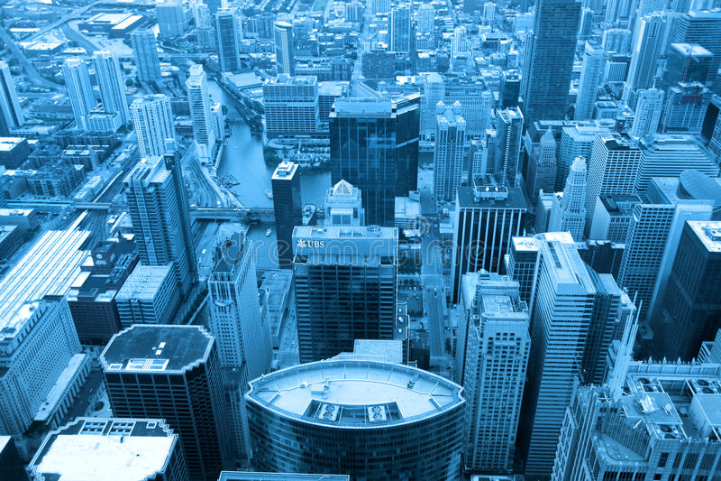 Lazo de Chicago imagen de archivo libre de regalías
