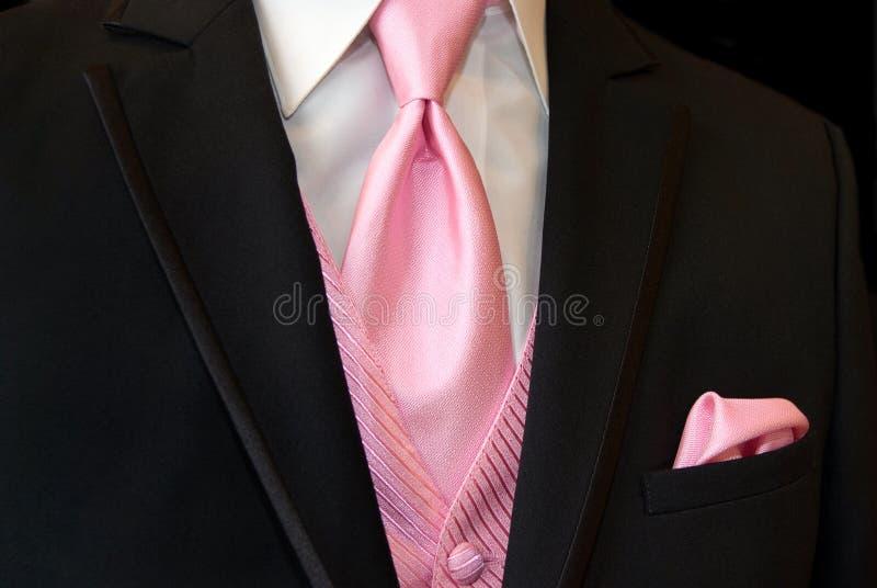 Lazo rosado foto de archivo libre de regalías
