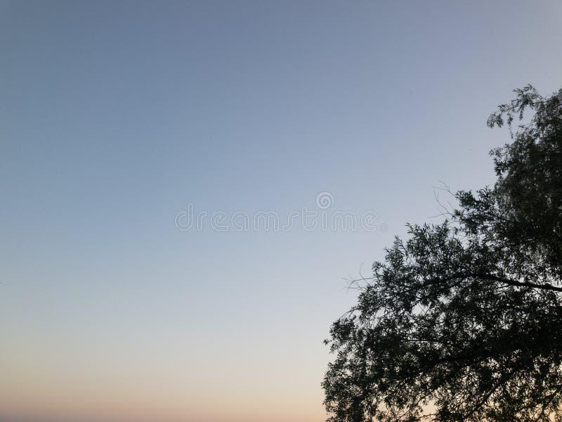Lazurowy piękny niebo obrazy stock