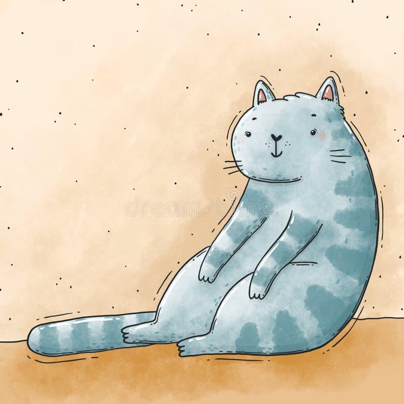 KIDS BOYS GIRLS Not Today T-Shirt Cat funny lazy sleepy kitty