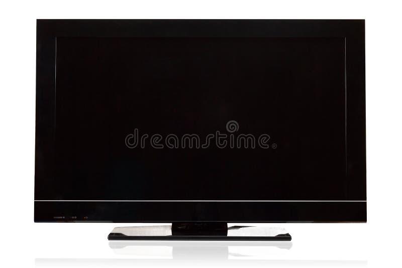 lcd现代电视 免版税库存照片