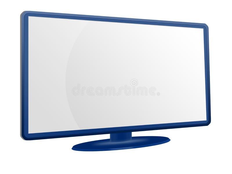 LCD überwachen Feld stock abbildung