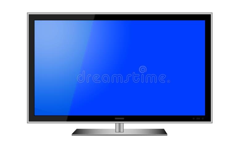 LCD de Vector van TV royalty-vrije illustratie