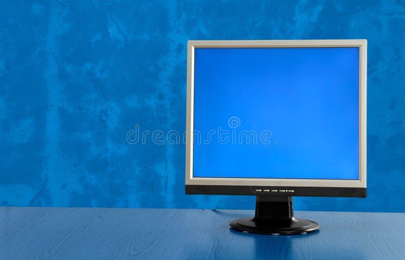 LCD display monitor royalty free stock photography