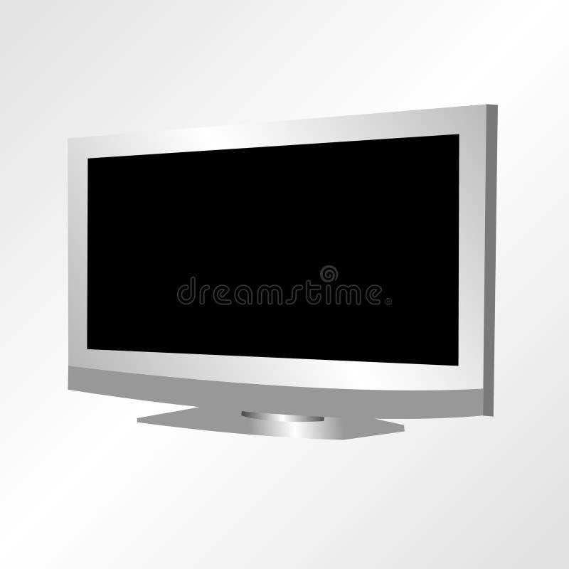 LCD-FERNSEHAPPARAT stock abbildung