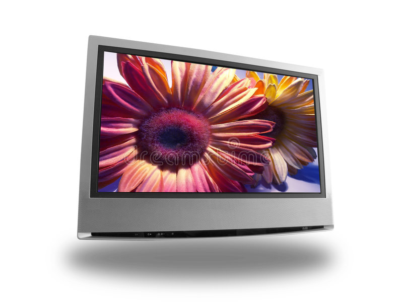 Lcd flower royalty free stock photos