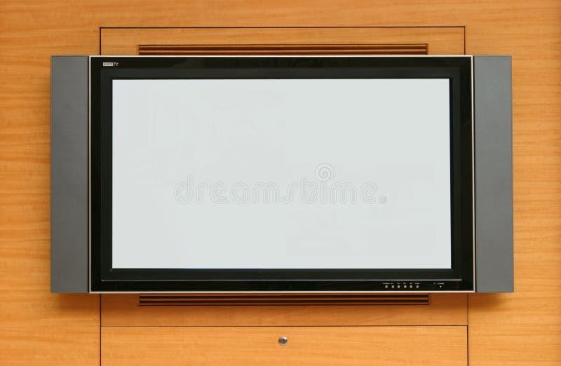 LCD het scherm van TV stock afbeeldingen