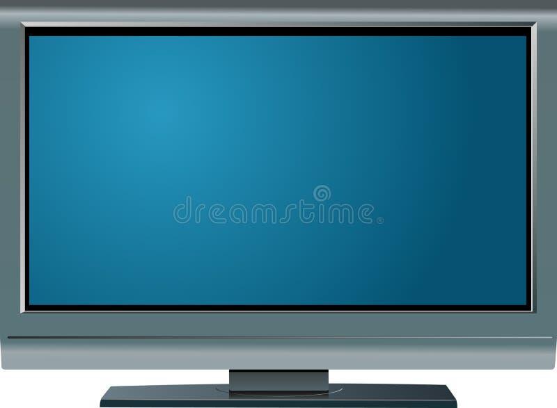 LCD het scherm van TV royalty-vrije illustratie